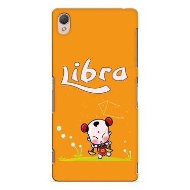 Snooky 37185 Digital Print Hard Back Case Cover For Sony Xperia Z3 - Yellow
