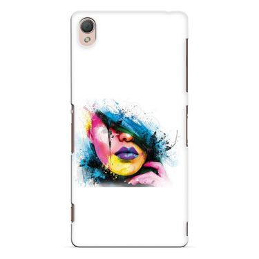 Snooky 37203 Digital Print Hard Back Case Cover For Sony Xperia Z3 - White