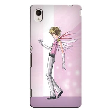 Snooky 37821 Digital Print Hard Back Case Cover For Sony Xperia M4 AQUA DUAL - Pink