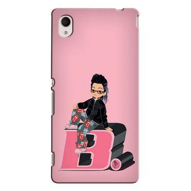 Snooky 37826 Digital Print Hard Back Case Cover For Sony Xperia M4 AQUA DUAL - Pink