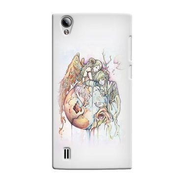 Snooky 37556 Digital Print Hard Back Case Cover For Vivo Y15 - Multicolour