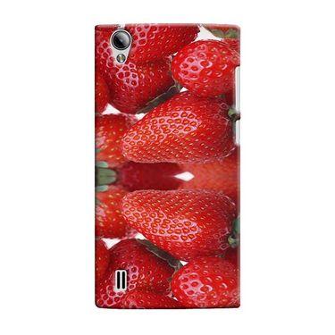Snooky 37559 Digital Print Hard Back Case Cover For Vivo Y15 - Red