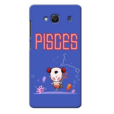 Snooky 36019 Digital Print Hard Back Case Cover For Xiaomi Redmi 2s - Purple
