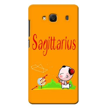 Snooky 36020 Digital Print Hard Back Case Cover For Xiaomi Redmi 2s - Yellow