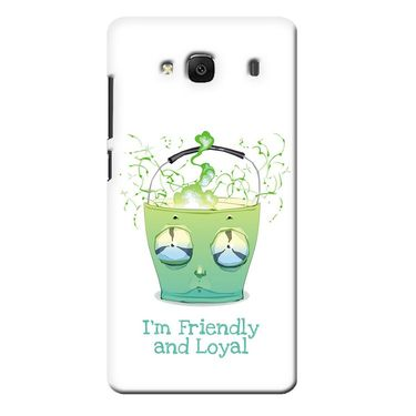 Snooky 36027 Digital Print Hard Back Case Cover For Xiaomi Redmi 2s - White