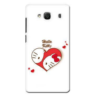 Snooky 36030 Digital Print Hard Back Case Cover For Xiaomi Redmi 2s - White