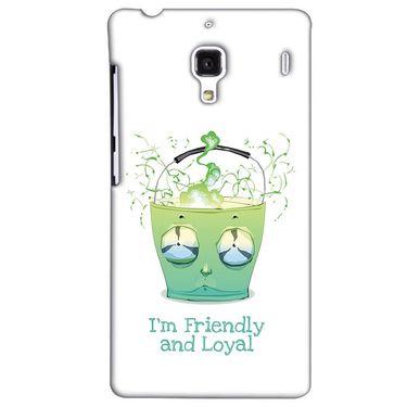 Snooky 38497 Digital Print Hard Back Case Cover For Xiaomi Redmi 1S - White