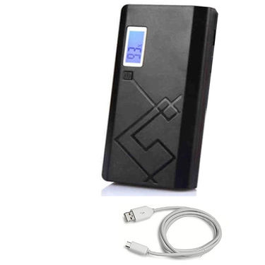 UNIC Portable Charger 15000 mAh Dual USB Power Bank with display UN15K4 - Black