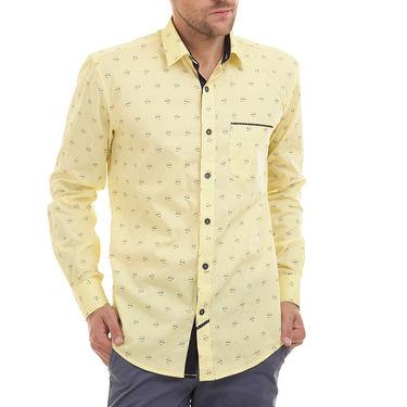 Bendiesel Printed Cotton Shirt_Bdc0100 - Yellow