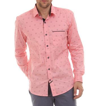 Bendiesel Printed Cotton Shirt_Bdc0102 - Pink
