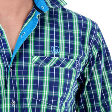 Bendiesel Checks Cotton Shirt_Bdc069 - Multicolor