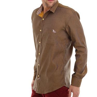 Bendiesel Plain Cotton Shirt_Bdc096 - Beige