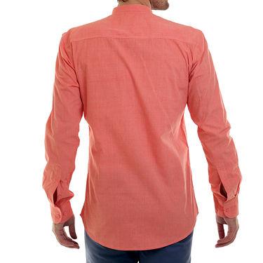 Bendiesel Plain Cotton Shirt_Bdcc019 - Orange