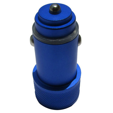 Flashmob C410CC Mattel Bullet Dual USB Car Charger - Blue