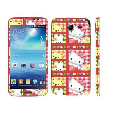 Snooky 39594 Digital Print Mobile Skin Sticker For Samsung Galaxy Mega 5.8 Gt 18281 - Pink