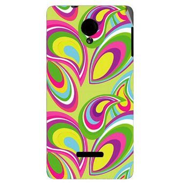 Snooky 40281 Digital Print Mobile Skin Sticker For Micromax Canvas Fun A74 - multicolour