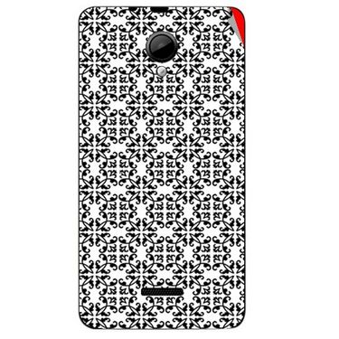 Snooky 40290 Digital Print Mobile Skin Sticker For Micromax Canvas Fun A76 - White