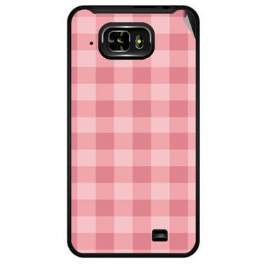 Snooky 40338 Digital Print Mobile Skin Sticker For Micromax Superfone Pixel A90 - Pink