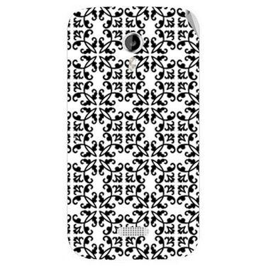 Snooky 40346 Digital Print Mobile Skin Sticker For Micromax Canvas Lite A92 - White