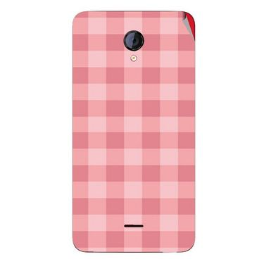 Snooky 40422 Digital Print Mobile Skin Sticker For Micromax Unite 2 A106 - Pink