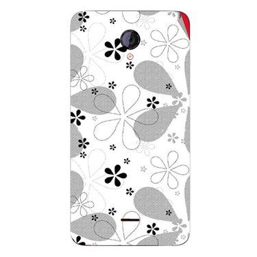 Snooky 40428 Digital Print Mobile Skin Sticker For Micromax Unite 2 A106 - White