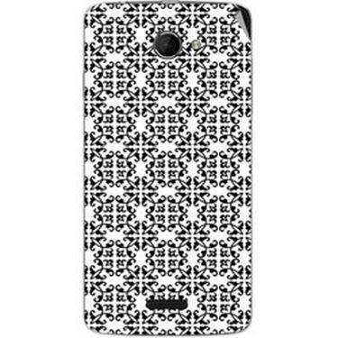 Snooky 40430 Digital Print Mobile Skin Sticker For Micromax Canvas Elanza 2 A121 - White