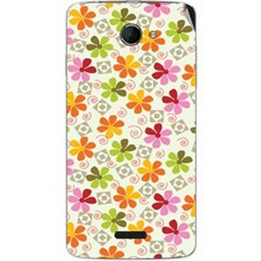 Snooky 40432 Digital Print Mobile Skin Sticker For Micromax Canvas Elanza 2 A121 - White