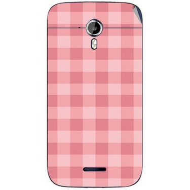 Snooky 40632 Digital Print Mobile Skin Sticker For Micromax Canvas Magnus A117 - Pink