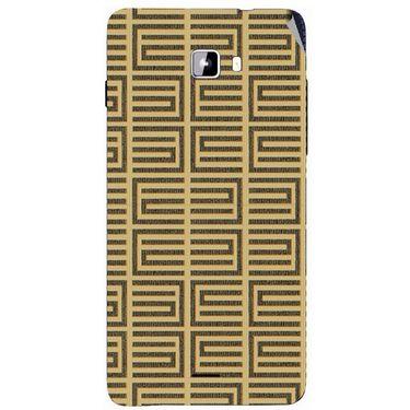 Snooky 40742 Digital Print Mobile Skin Sticker For Micromax Canvas Nitro A311 - Brown