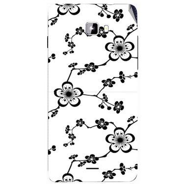 Snooky 40748 Digital Print Mobile Skin Sticker For Micromax Canvas Nitro A311 - White