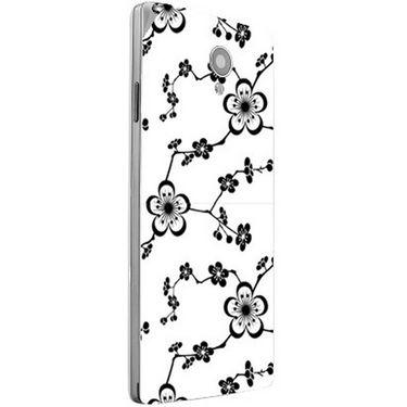 Snooky 40832 Digital Print Mobile Skin Sticker For XOLO A500 Club - White