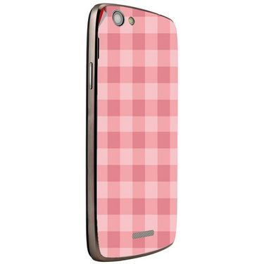 Snooky 40870 Digital Print Mobile Skin Sticker For XOLO A510S - Pink