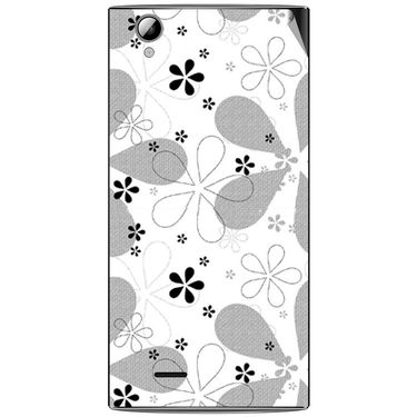 Snooky 40904 Digital Print Mobile Skin Sticker For XOLO A600 - White