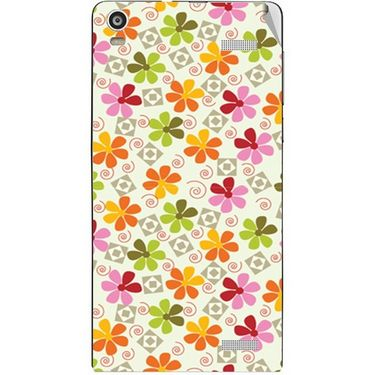 Snooky 40908 Digital Print Mobile Skin Sticker For XOLO A1000S - White