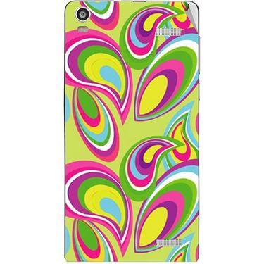 Snooky 40911 Digital Print Mobile Skin Sticker For XOLO A1000S - multicolour