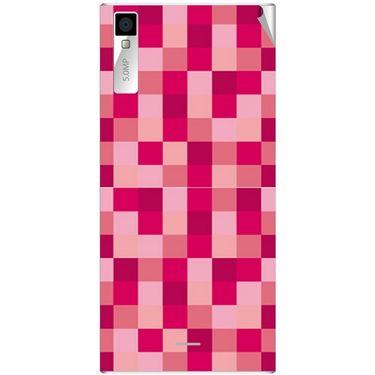 Snooky 40997 Digital Print Mobile Skin Sticker For XOLO Q600S - Purple