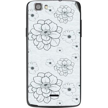 Snooky 41015 Digital Print Mobile Skin Sticker For XOLO Q610S - Grey