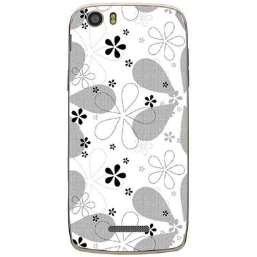 Snooky 41044 Digital Print Mobile Skin Sticker For XOLO Q700S - White