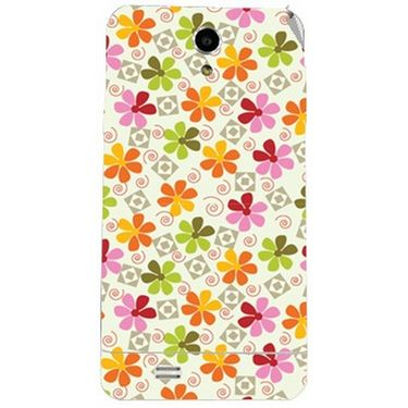 Snooky 41062 Digital Print Mobile Skin Sticker For XOLO Q900 - White