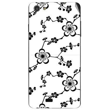 Snooky 41084 Digital Print Mobile Skin Sticker For XOLO Q900S - White