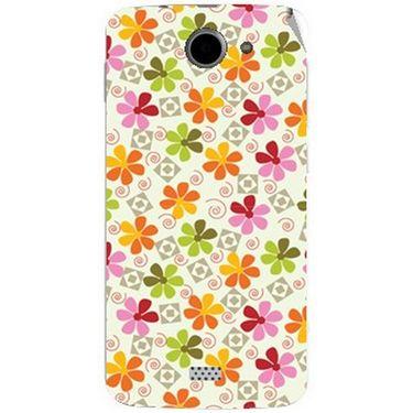 Snooky 41090 Digital Print Mobile Skin Sticker For XOLO Q1000 - White