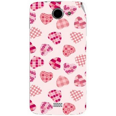Snooky 41096 Digital Print Mobile Skin Sticker For XOLO Q1000 - White