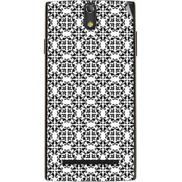 Snooky 41130 Digital Print Mobile Skin Sticker For XOLO Q1020 - White
