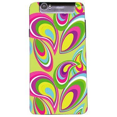 Snooky 41177 Digital Print Mobile Skin Sticker For XOLO Q3000 - multicolour
