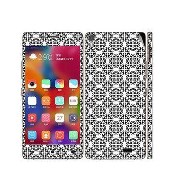 Snooky 41228 Digital Print Mobile Skin Sticker For Gionee Elife 5.1 - White