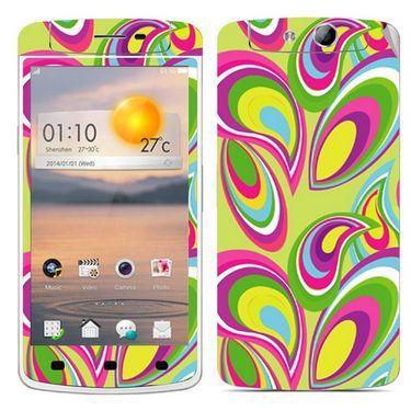 Snooky 41317 Digital Print Mobile Skin Sticker For OPPO N1 Mini - multicolour