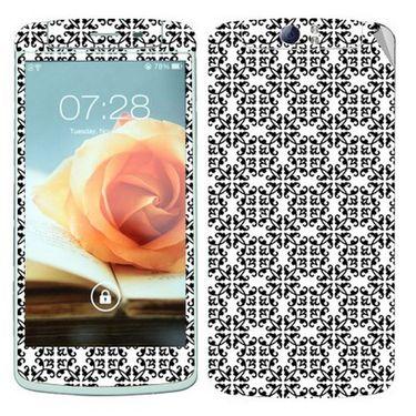 Snooky 41326 Digital Print Mobile Skin Sticker For OPPO N1 - White