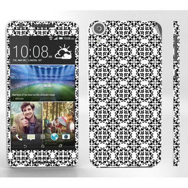 Snooky 41396 Digital Print Mobile Skin Sticker For HTC Desire 820 - White