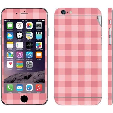 Snooky 41542 Digital Print Mobile Skin Sticker For Apple Iphone 6 - Pink