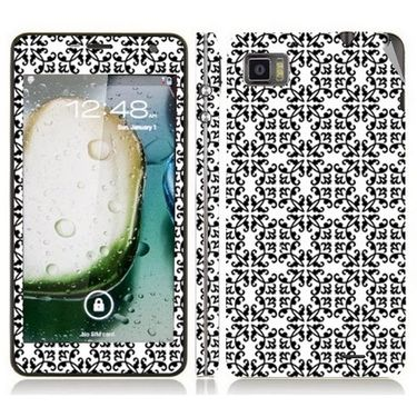 Snooky 41606 Digital Print Mobile Skin Sticker For Lenovo K860 - White